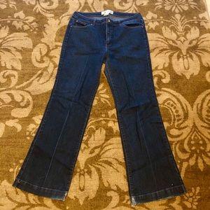 🗣Women's faded glory brand dark wash jeans 16W